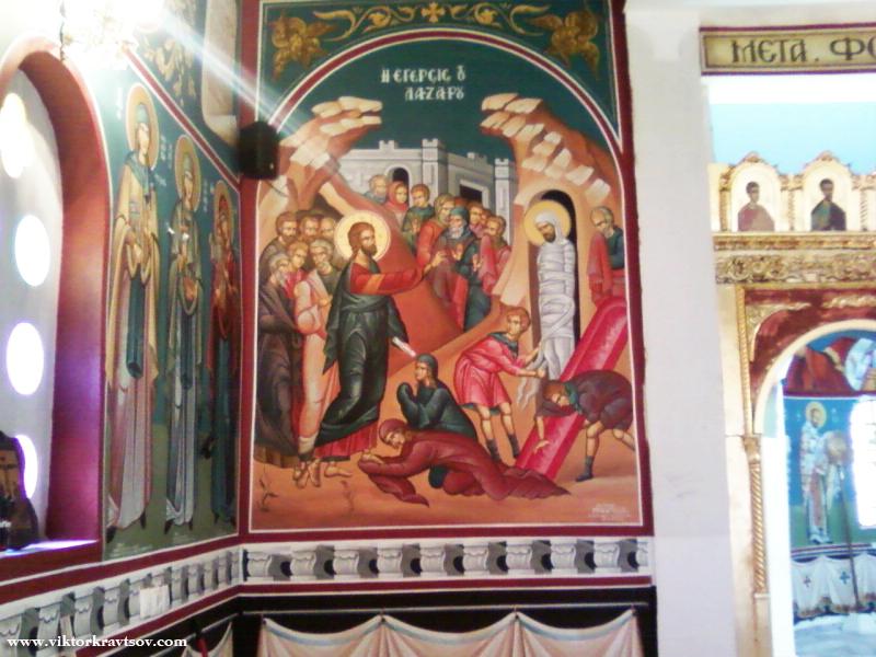 Church near Athens.