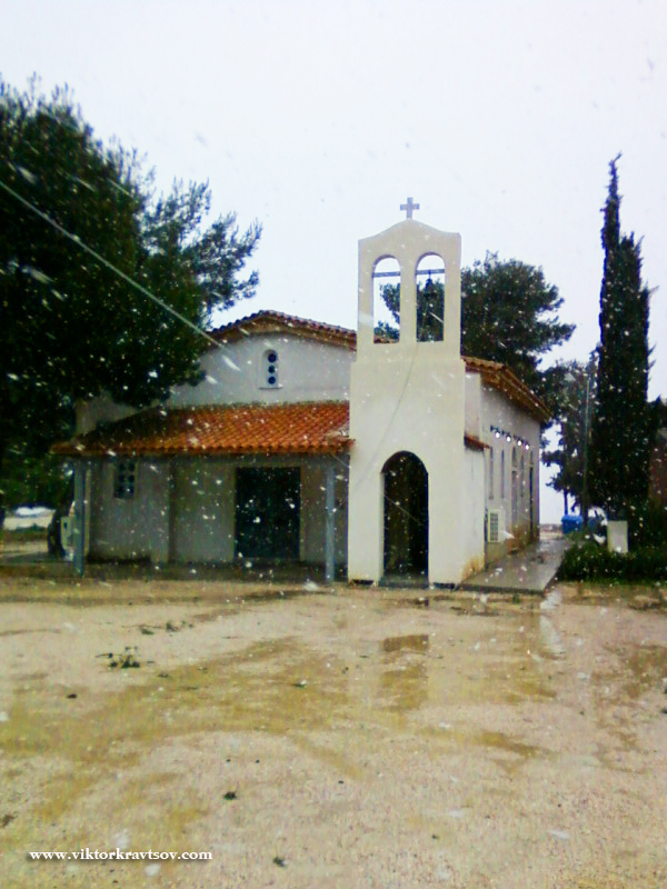 Church near Athens.