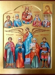 Orthodox Family Icon