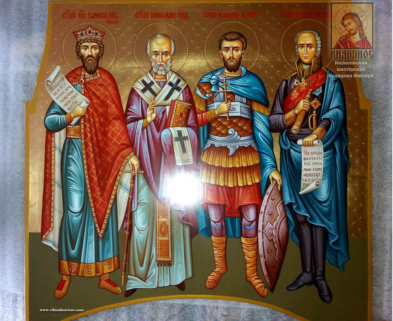 Храмовая Икона для иконостаса Святые Мужи