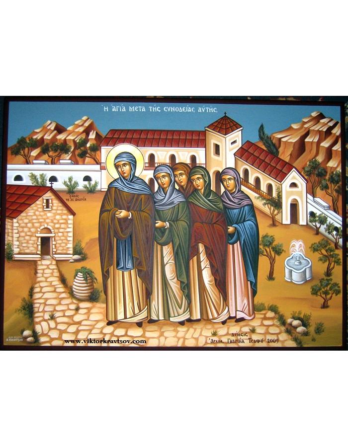 Сюжетные иконы жития Св. Филотеи.