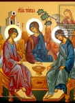 Икона Ветхозаветная Троица (Троица Рублёва)