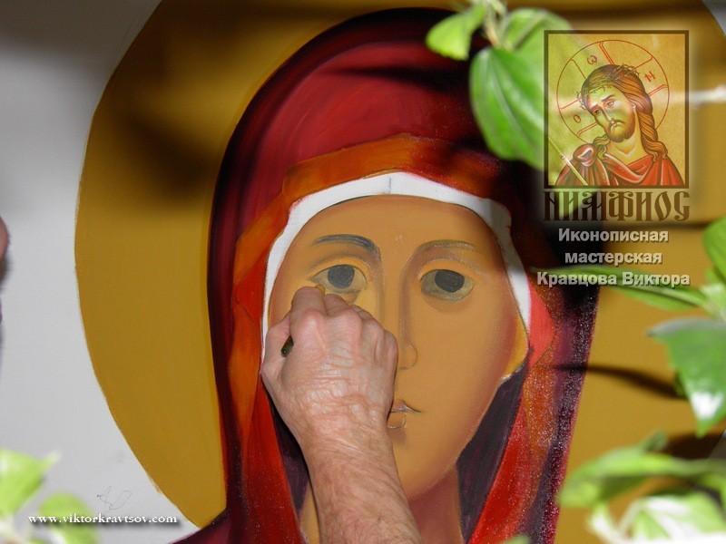 образ Покров Пресвятой Богородицы.