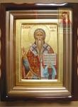 Икона Св. Власий в киоте