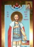 Икона мерная Александр Невский