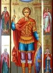 Св. Димитрий Солунский - мерная икона