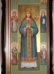 Мерная икона Иулиании в киоте