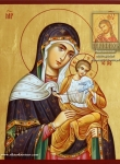 Голубицкая (Коневская) икона Божией Матери