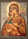 Икона Божией Матери Владимирская.