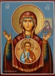 Икона Богородицы «Знамение»