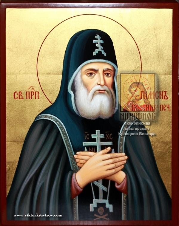 Преподобный Пимен, постник Печерский