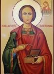 Храмовая икона Пантелеимона Целителя