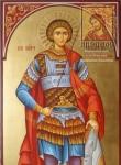 Св. Георгий Победоносей ростовая икона
