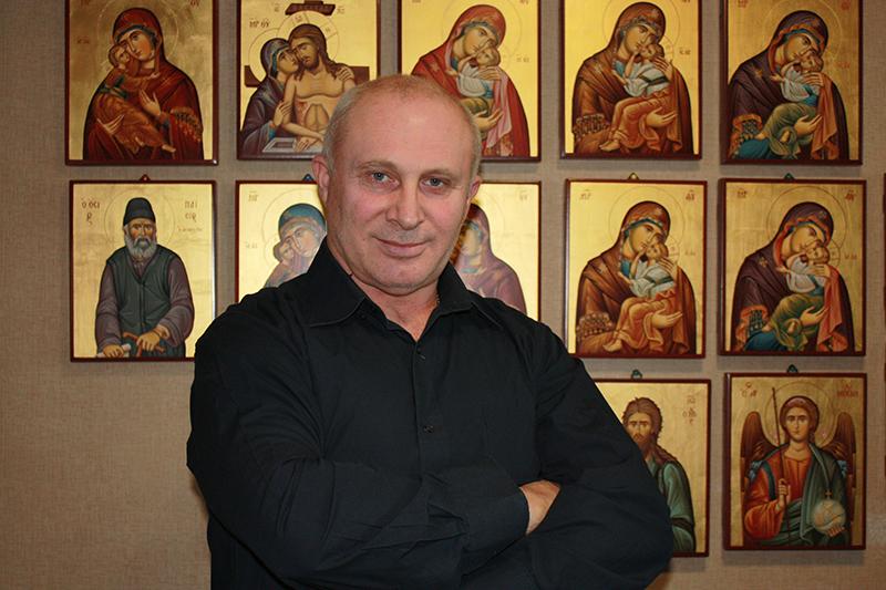 Иконописец Кравцов Виктор